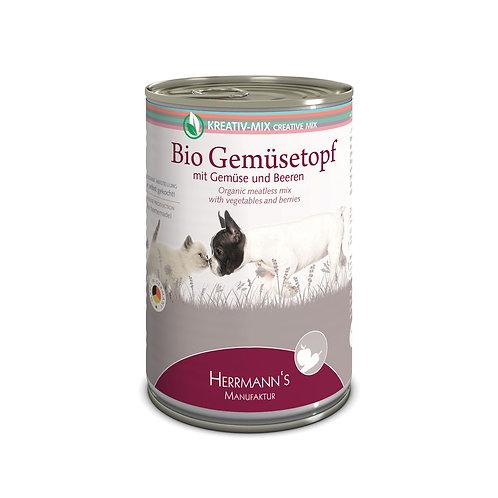 Herrmann´s Hundefutter Bio Gemüsetopf 400g