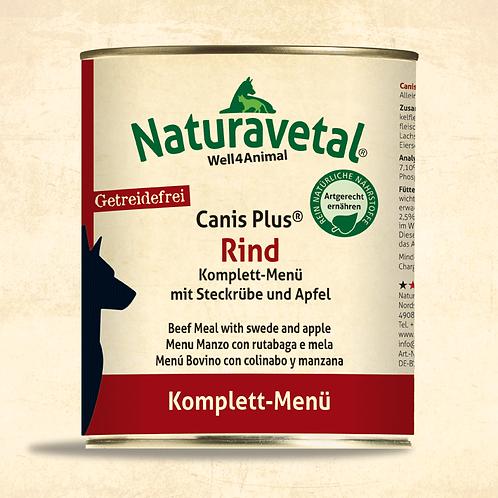 Naturavetal Canis Plus Rind Komplett Menü