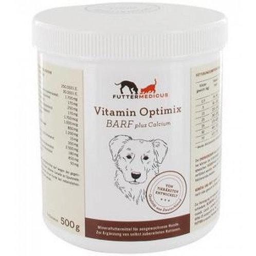 Futtermedicus Vitamin Optimix Barf plus Calcium 500g