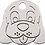 Thumbnail: Red Dingo® Hundemarke aus Edelstahl
