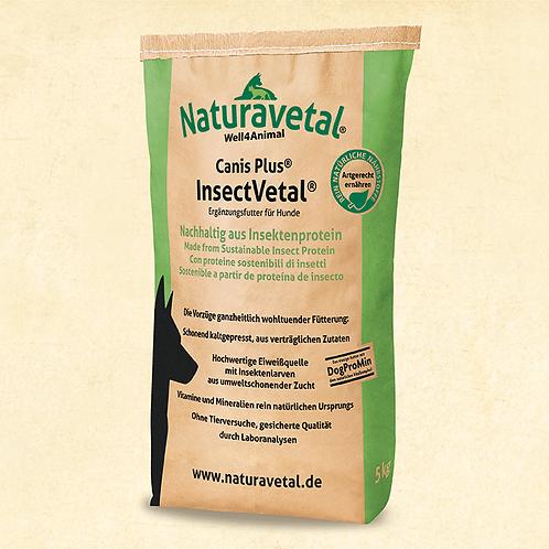 Naturavetal Hundetrockenfutter Canis Plus® InsectVetal®