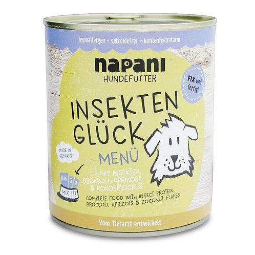 Napani Nassfutter Insekten Glück - Menü für Hunde