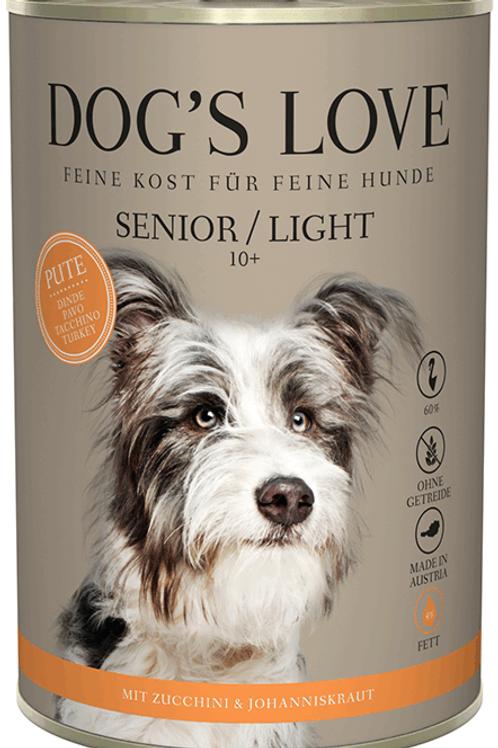 DOG´S LOVE Senior Pute & Light