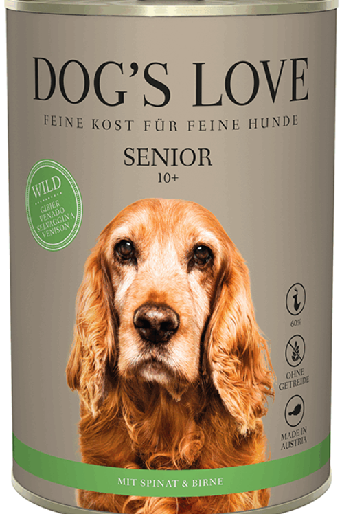 DOG´S LOVE Senior Wild Nassfutter