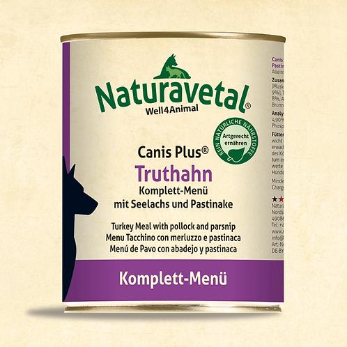 Naturavetal Canis Plus Truthahn Komplett Menü
