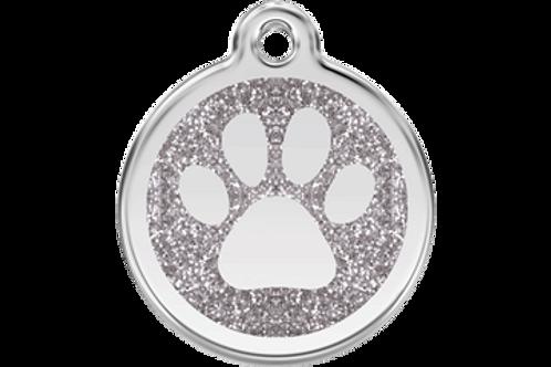 Red Dingo® Hundemarke mit Glitzer