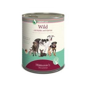Herrmann´s Hundefutter Wild mit Kürbis und Quinoa