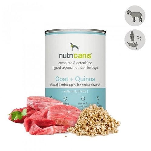 Nutricanis Hundefutter Ziege und Quinoa