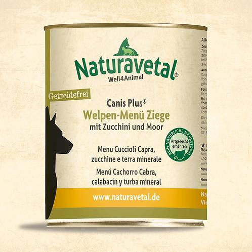Naturavetal Canis Plus Welpe Menü Ziege 800g