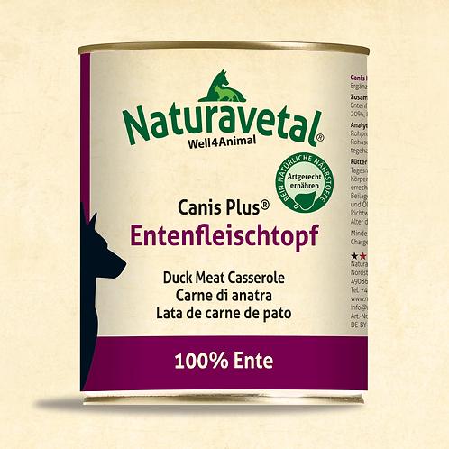 Naturavetal Canis Plus Entenfleischtopf 800g