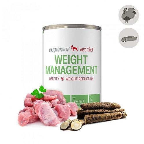 Nutricanis Hundefutter Gewichtsreduktion Pute und Schwarzwurzel