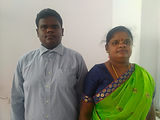 Satish with his mother.jpeg
