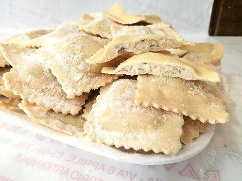 Pansotti Ricotta e Spinaci