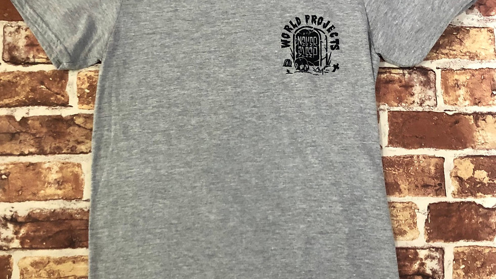 World projects graphic tee shirt   S