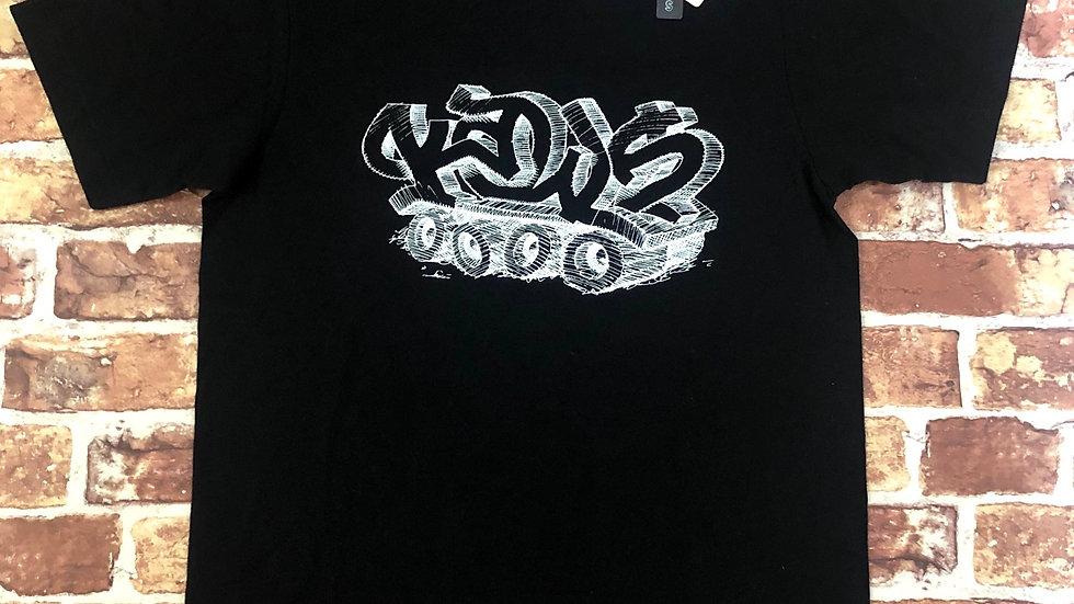 Kaws graffiti 'duster' t shirt | S