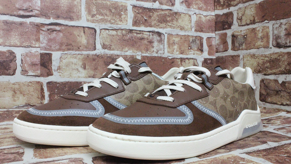 Coach classic print sneakers SIZE 9.5