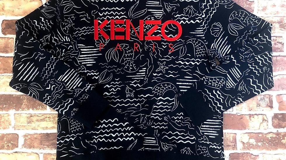 Kenzo 'wavey' crewneck sweater