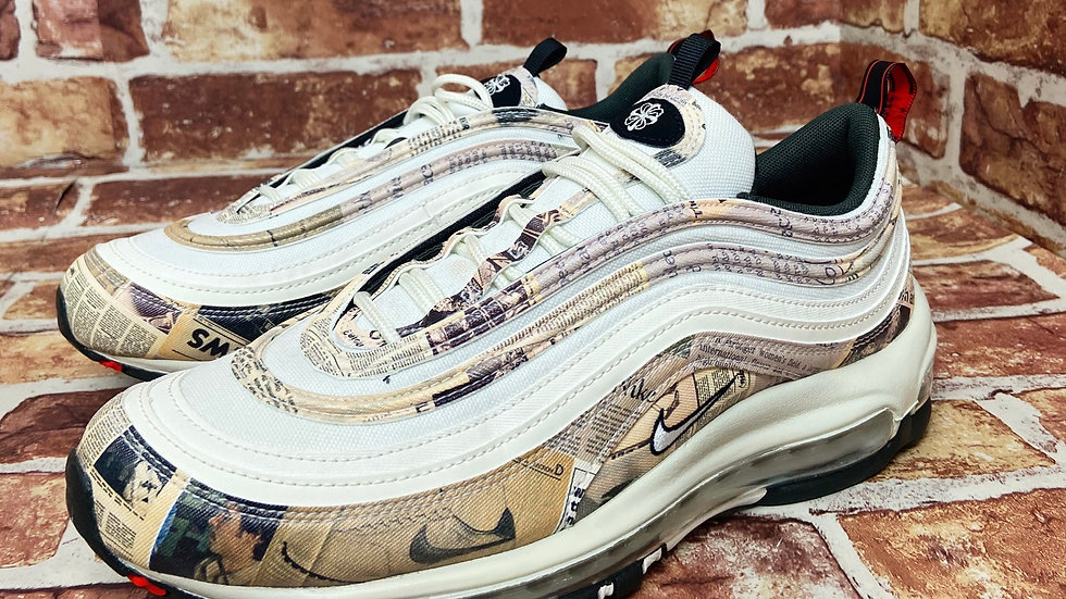 Nike air max 97 'Newspaper' | SIZE 8
