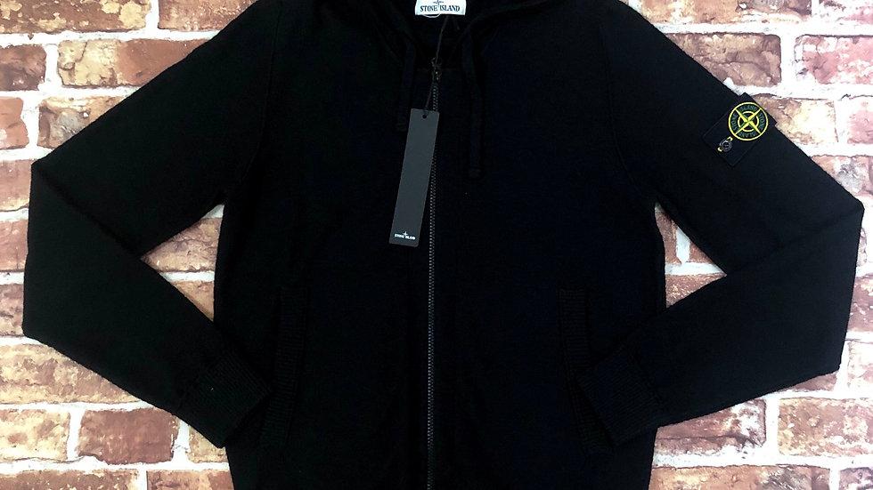 Stone Island Woolen zip up hoodie   S