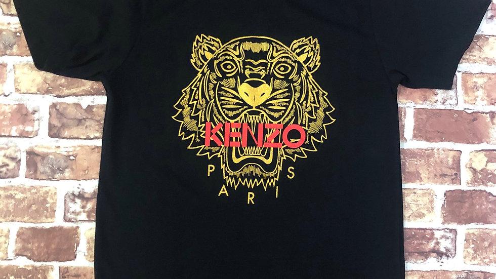 Kenzo gold tiger tee   L