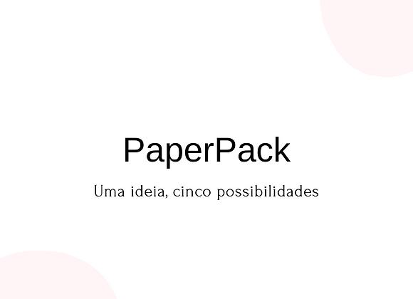 PaperPack Scrap + Origami