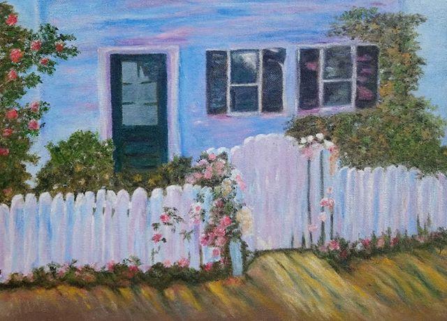 Olga O'Donovan. Oil study on canvas.