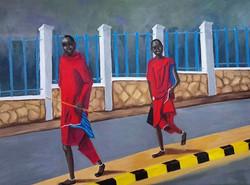 Sue Westaway. Oil on canvas.