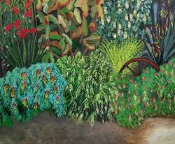 Jenny Marshman. Acrylic on canvas.