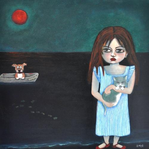 denise-mcdougall-girl-cat-boat