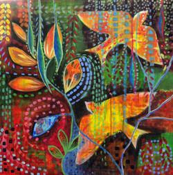 Amanda Price. Acrylic on canvas.