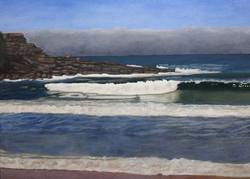 Doug Harding. Oil on canvas.