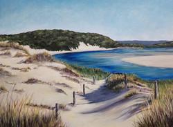 Keri McDougall. Acrylic on canvas.
