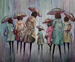 Sara Shaw, study in acrylics.