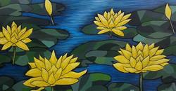 Lyn Shaw. Acrylic on canvas.