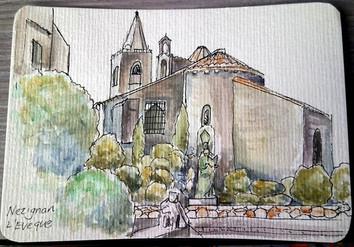 Postcard Day 2 - Nezignan L'Eveque.jpg