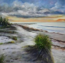 Pat Culham. Oil on canvas.