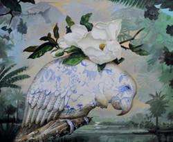 Anne English. Acrylic on Canvas.
