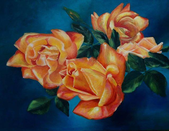 Dawn Puglisi. Oil on canvas.