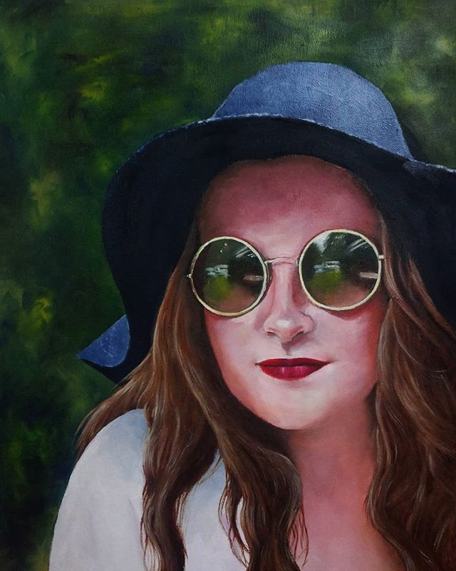 Sonya Wester. Oil on canvas.