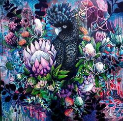 Peta West. Acrylic on canvas.