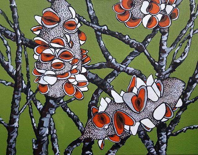 Sue Ferris. Acrylic on canvas.
