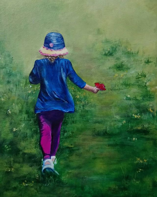 Keri MacDougall. Acrylic on canvas.
