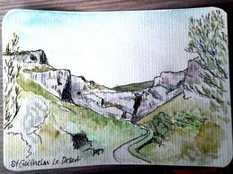 Postcard Day 3 - Saint Guilhelm Le Deser