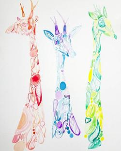 Lissa Bingham. Watercolour on paper.