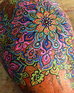 A little gourd painting. Ready for the O