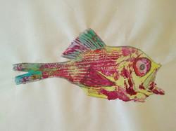 Annie Boutland. Fish Print.