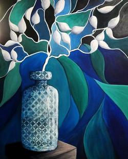 Raine Hendry. Acrylic on canvas.