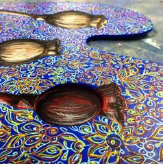 Take one palette... and create. #escapea