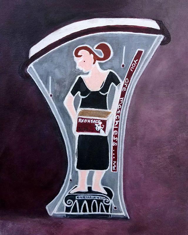 Denise Rodwell. Acrylic on canvas.