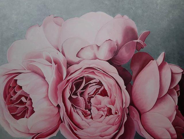 Nikki Fletcher. Oil on canvas.